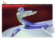 1933 Plymouth Hood Ornament -0121rc Carry-all Pouch