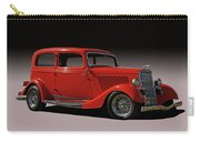 1934 Ford Red Two Door Sedan Carry-all Pouch