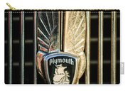 1934 Plymouth Emblem Carry-all Pouch
