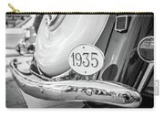 1935 Black And White Carry-all Pouch by Gary Gillette