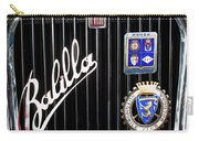 1935 Fiat Balilla Sport Spider Grille Carry-all Pouch