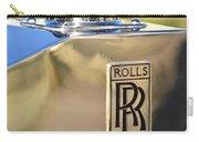 1935 Rolls-royce Phantom II Hood Ornament Carry-all Pouch
