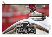 1936 American Lafrance Fire Truck Hood Ornament Carry-all Pouch by Jill Reger