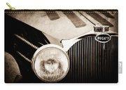 1936 Bugatti Type 57s Corsica Tourer Grille Emblem -1673s Carry-all Pouch