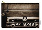 1936 Bugatti Type 57s Corsica Tourer License Plate -0067s Carry-all Pouch