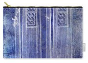 1936 Gas Pump Patent Blue Carry-all Pouch