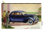 1937 Ford Car Ad Carry-all Pouch