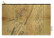 1938 Battleship Patent Carry-all Pouch