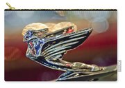1938 Cadillac V-16 Sedan Hood Ornament Carry-all Pouch