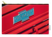 1938 Chevrolet Pickup Truck Emblem Carry-all Pouch by Jill Reger