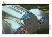 1938 Delage D8 - 120 Aerodynamic Coupe Front Grill Carry-all Pouch