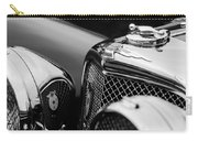 1938 Jaguar Ss100 3.5-liter Roadster Grille Carry-all Pouch