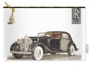 1938 Rolls Royce Phantom I I I Sedanca Deville Carry-all Pouch