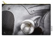 1938 Talbot-lago 150c Ss Figoni And Falaschi Cabriolet Headlight - Emblem -1554ac Carry-all Pouch