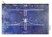 1940 Cymbal Patent Blue Carry-all Pouch