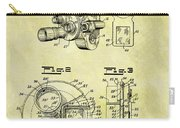 1940 Film Camera Patent Carry-all Pouch