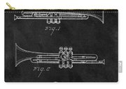 1940 Trumpet Patent Illustration Carry-all Pouch