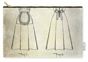 1940 Waitress Uniform Patent Carry-all Pouch