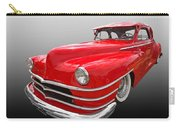 1940s Custom Chrysler New Yorker In Red Carry-all Pouch
