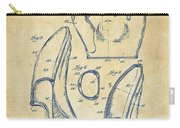 1941 Baseball Glove Patent - Vintage Carry-all Pouch by Nikki Marie Smith