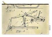 1941 Bulldozer Patent Carry-all Pouch