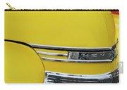 1941 Chevrolet Sedan Hood Ornament 2 Carry-all Pouch by Jill Reger