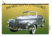 1941 Mercury Eight Convertible Carry-all Pouch by Jack Pumphrey