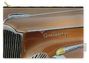 1941 Packard Hood Ornament 2  Carry-all Pouch by Jill Reger