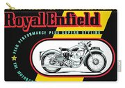 1941 Royal Enfield Motorcycle Ad Carry-all Pouch