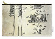 1941 Toothbrush Patent  Carry-all Pouch