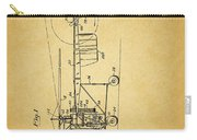 1943 Helicopter Patent Carry-all Pouch