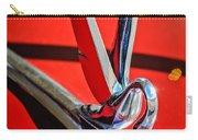 1948 Packard Hood Ornament 2 Carry-all Pouch by Jill Reger
