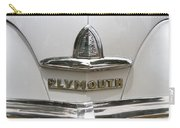 1948 Plymouth Hood Logo Carry-all Pouch