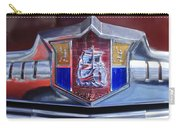 1949 Plymouth P-18 Special Deluxe Convertible Emblem Carry-all Pouch by Jill Reger