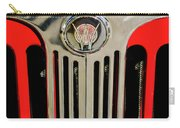 1949 Willys Jeepster Hood Ornament And Grille Carry-all Pouch