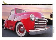 1950 Chevy Pick Up At Sunset Carry-all Pouch