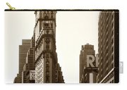 1950 Times Square New York Carry-all Pouch