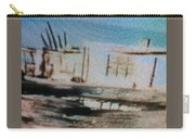 1950's - At The Hopi Village Carry-all Pouch