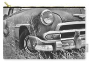1951 Chevrolet Power Glide Black And White 2 Carry-all Pouch by Lisa Wooten
