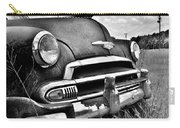 1951 Chevrolet Power Glide Black And White 3 Carry-all Pouch