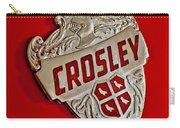 1951 Crosley Hood Emblem Carry-all Pouch