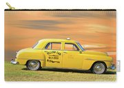 1951 Plymouth Sedan 'yellow Cab' Carry-all Pouch