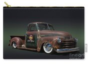 1951 Rusty Chevrolet Pickup Truck Carry-all Pouch