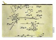 1952 Helicopter Patent Carry-all Pouch