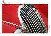 1952 Jaguar Xk 120 Grille Emblem Carry-all Pouch