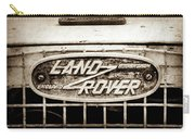 1952 Land Rover 80 Grille  Emblem -0988s2 Carry-all Pouch