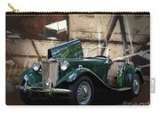 1952 Mg Td Roadster Sports Car Carry-all Pouch