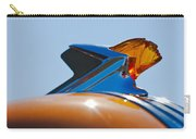 1952 Pontiac Tin Woodie Wagon Hood Ornament 2 Carry-all Pouch