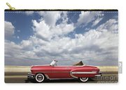 1953 Chevy Bel Air Convertible, Mixed Media, Louis Vuitton Steamer Trunk  Carry-all Pouch