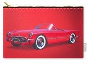 1953 Corvette Classic Vintage Sports Car Automotive Art Carry-all Pouch